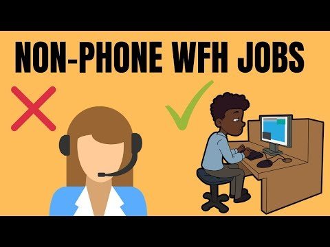 5 Non-Phone Work-From-Home Jobs Hiring for June 2019