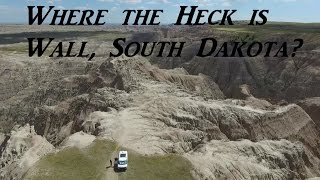 Wall Drug and Arriving at the Badlands Van Life