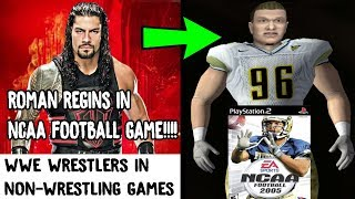 10 Times WWE Superstars Appeared In Non-Wrestling Games