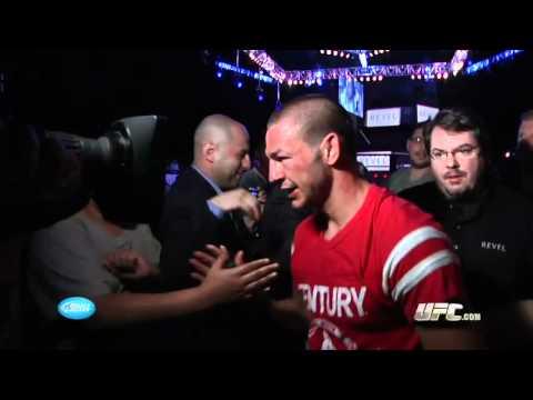 UFC on FX 4: Cub Swanson Backstage Interview