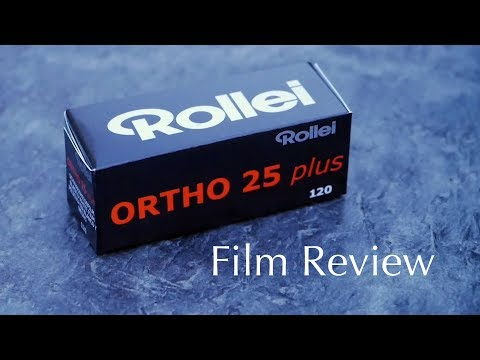 Film Review: Rollei Ortho 25 Plus