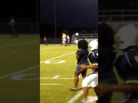 nehemya matthews football fumble hit!