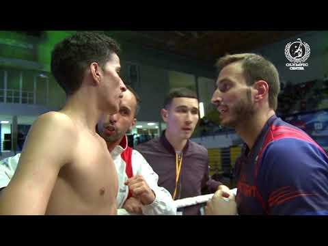 Olympic Fight Night II Melilla ALI BOUHLASSA VS RAUL GARCIA.