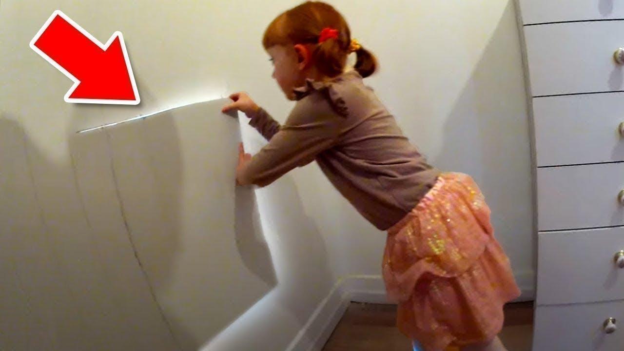 Esta Niña Encontró Un Secreto Increíble En Su Habitación