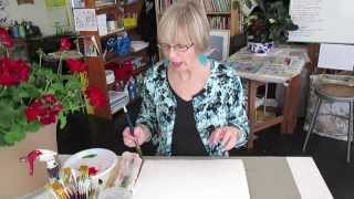 Maryellen Minute #4 geranium joy