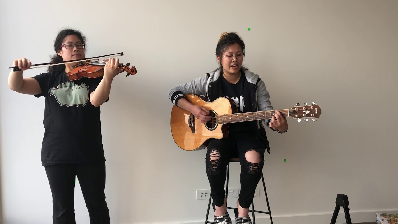 Empty Apartment Acoustic Cover Liv And Qc Play Yellowcard With A Violin