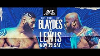 UFC Fight Night Blaydes vs Lewis FULL card breakdown predictions and betting advice