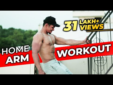 Full Arm Workout At Home (Biceps & Triceps)