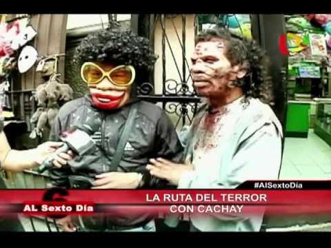 La Ruta Del Terror: El Zombie Cachay Se Alista Para Celebrar Halloween