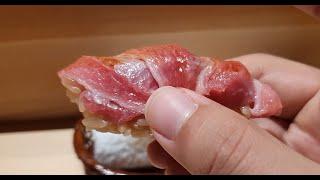 도쿄 미슐랭1스타 가성비 초밥. 나는 손절ㅋㅋㅋ[도쿄 타카가키노즈시] 1 Michelin starred tiny Sushi Place in Tokyo. Takagakinozushi