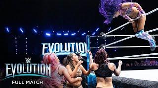 FULL MATCH - Sasha Banks, Bayley & Natalya vs. The Riott Squad: WWE Evolution 2018