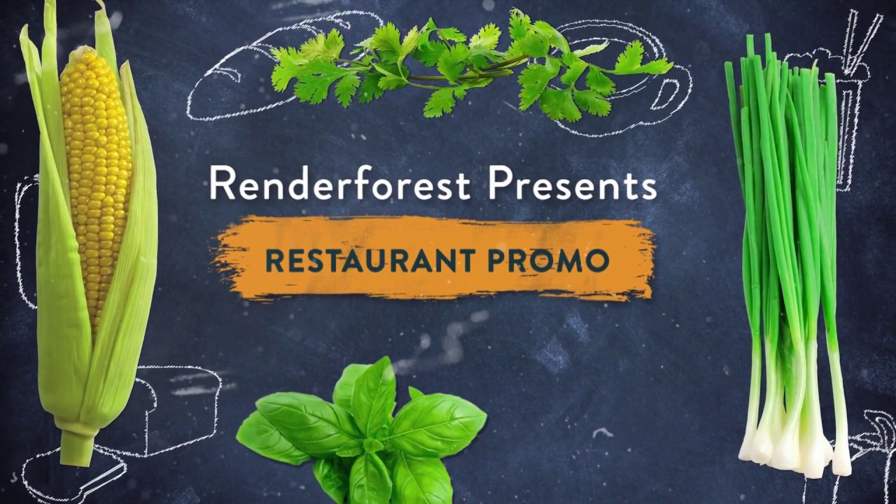 Online Free Restaurant Promo Video Template