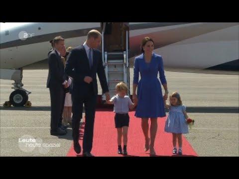 Kate  und William in Deutschland! Wunderschöne Bilder!