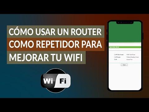 Cómo Usar y Configurar un Router como Repetidor para Mejorar tu WiFi