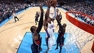 Westbrook Notches 9th Triple-Double of Season in Win Over Atlanta
