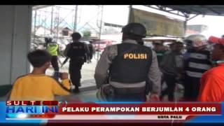 Aksi Perampok Di Jalan Monginsidi Terekam CCTV
