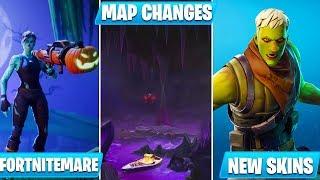 *HUGE* Fortnite Update 6.20! - Fortnitemares, Challenges, Skins, Map Changes, & MORE!