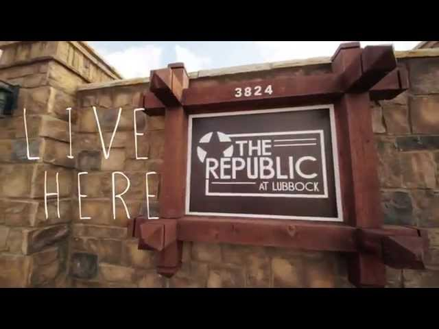 The Republic at Lubbock video tour cover