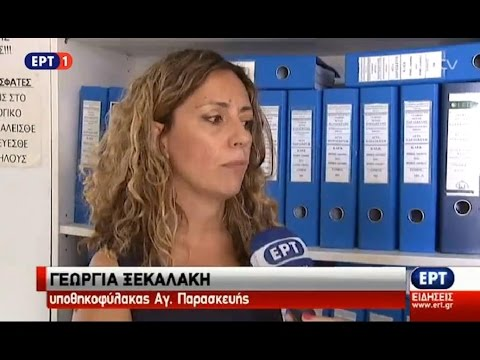 Gina - ERT TV News 6 Aug 2015