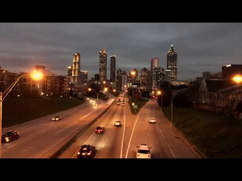 Atl Skyline Timelapse with Iphone 8 Plus and DJI Oslo Mobile 2