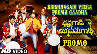 Krishnagadi Veera Prema Gaadha Video Song Promo || KVPG || Nani, Mehr Pirzada