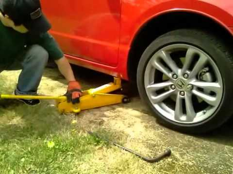 How To Tire Rotation 2008 Honda Civic Si 8th Gen Htc Hd2 Youtube