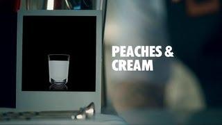 Peaches & Cream Drink Recipe - How To Mix