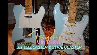 FENDER VINTERA 50s TELECASTER & STRATOCASTER REVIEW