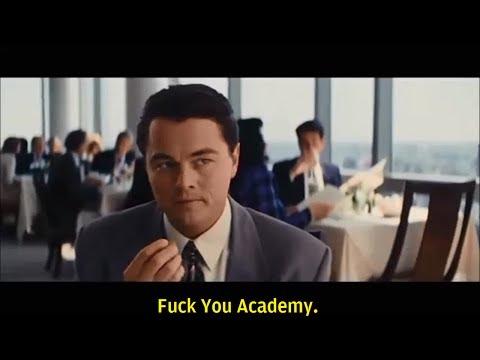 And the Oscar Goes To...(Reaction of Leonardo DiCaprio)!