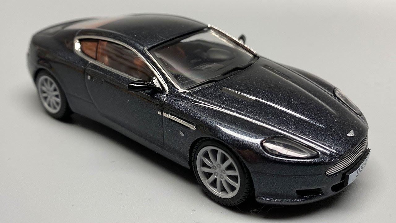 Rebuilding An Aston Martin Db9 Modelcar Youtube