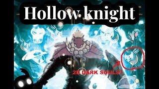 Is Hollow Knight actually 2D Dark Souls?