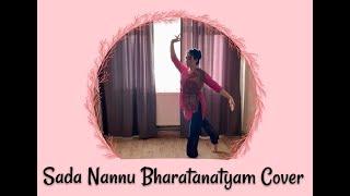 Sada Nannu Bharatanatyam Dance Cover | Manisha Eerabathini |  Asya Kurtoğlu