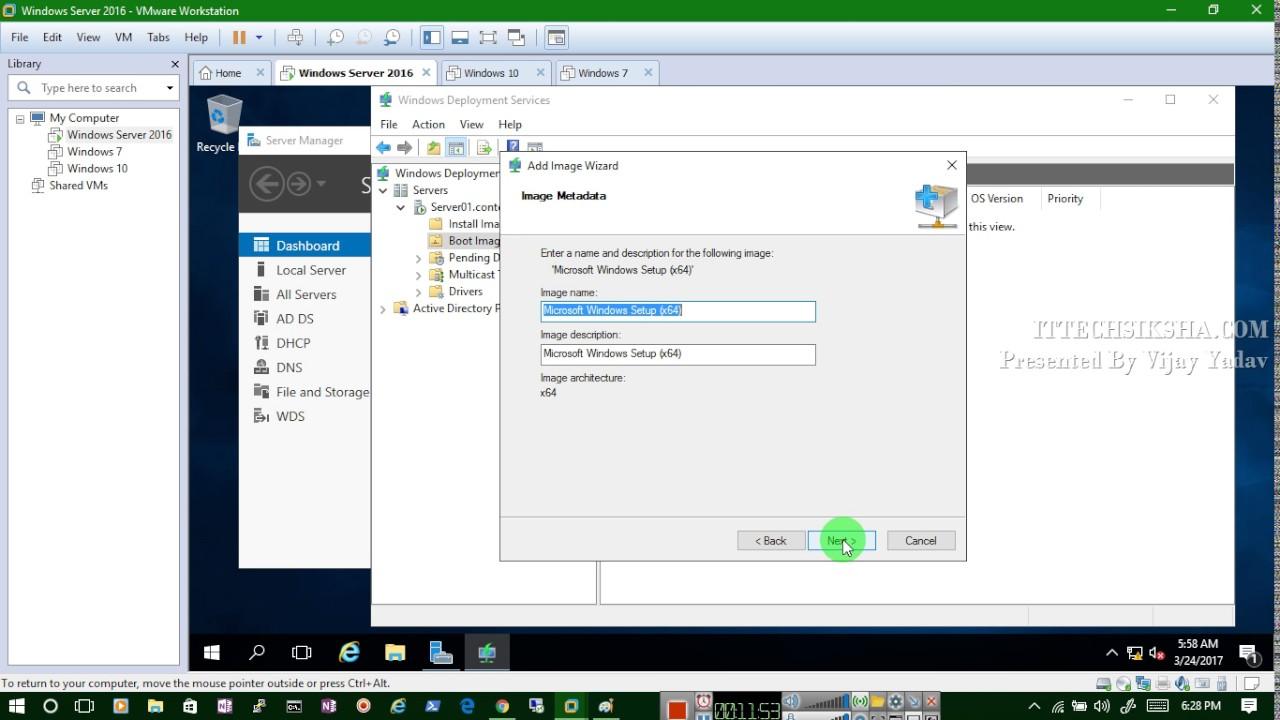 How to Configure WDS Server On windows server 2016