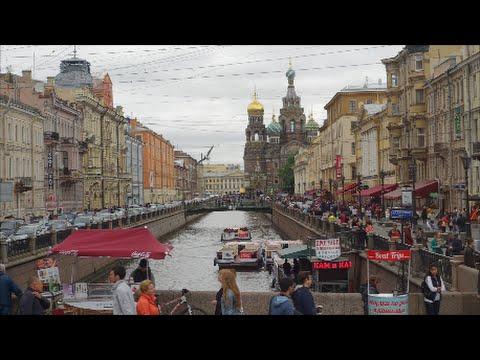 Waterways of St Petersburg Braemar Cruise Part 6 2016