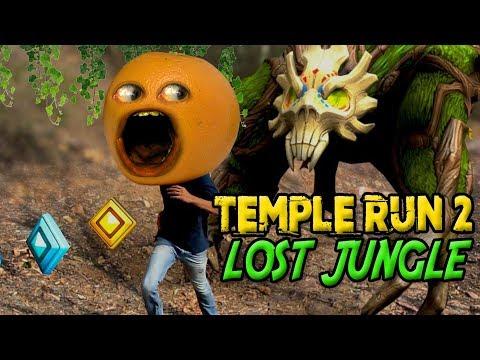 Temple Run 2: Lost Jungle [Annoying Orange Plays]