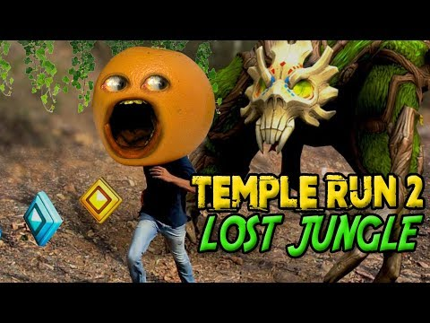 Temple Run 2: Lost Jungle [Annoying Orange Plays]