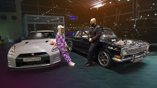 700 л.с. Волга КГБ Vs Nissan GT R. Красавица и чудовище