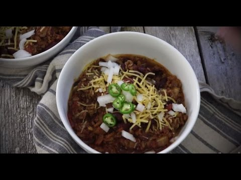How to Make Spicy Slow Cooked Chili | Ground Beef Recipes | Allrecipes.com - YouTube