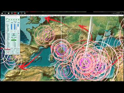 10/10/2017 -- Global Earthquake Forecast -- United States, Europe, Asia activity increase expected