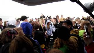 """South Rowan High School Chorus with """"The Star-Spangled Banner"""" at Liberty Island (16th March 2012)"""