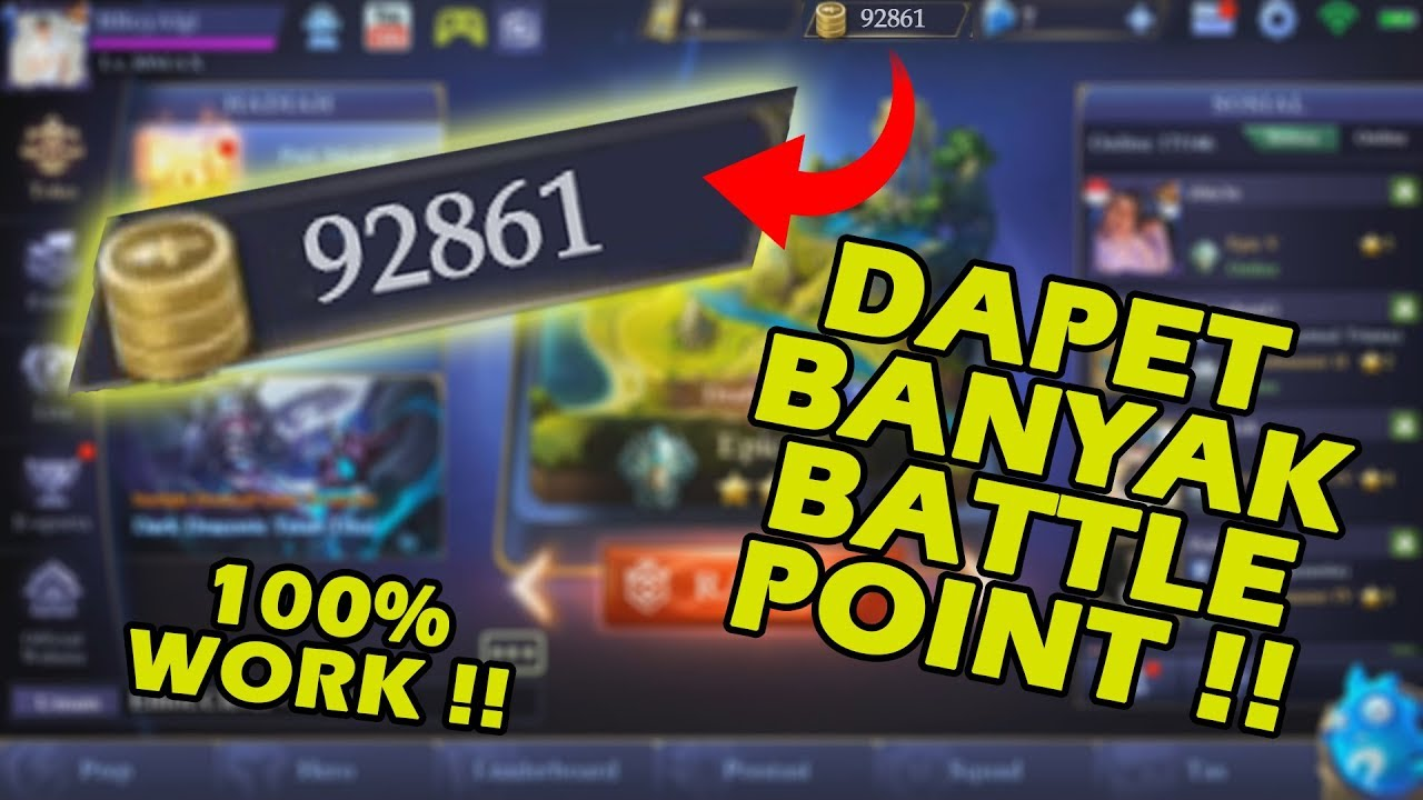 Rahasia Top Global! Cara Cepat Mendapatkan Battle Point ML - cryptonews.id