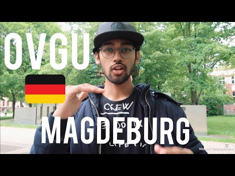 Campus tour of Otto-von-Guericke University, Magdeburg/ Germany