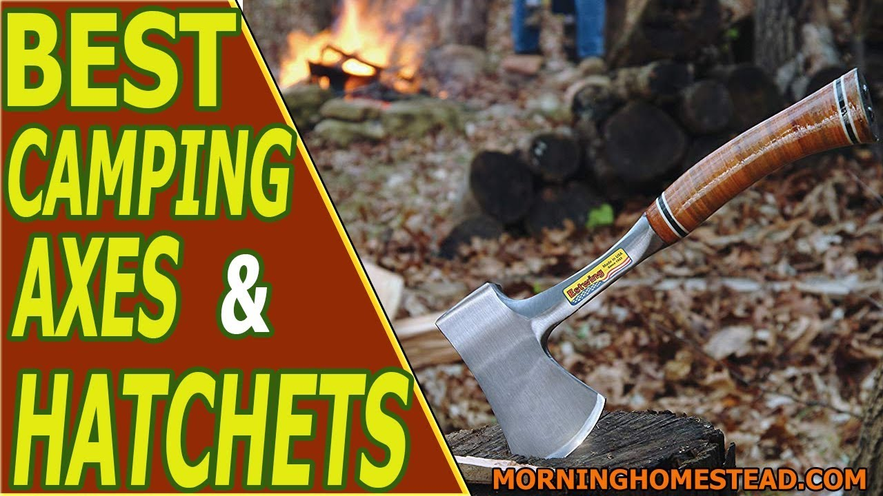Top 4 Best Camping Axes and Hatchets [2019]