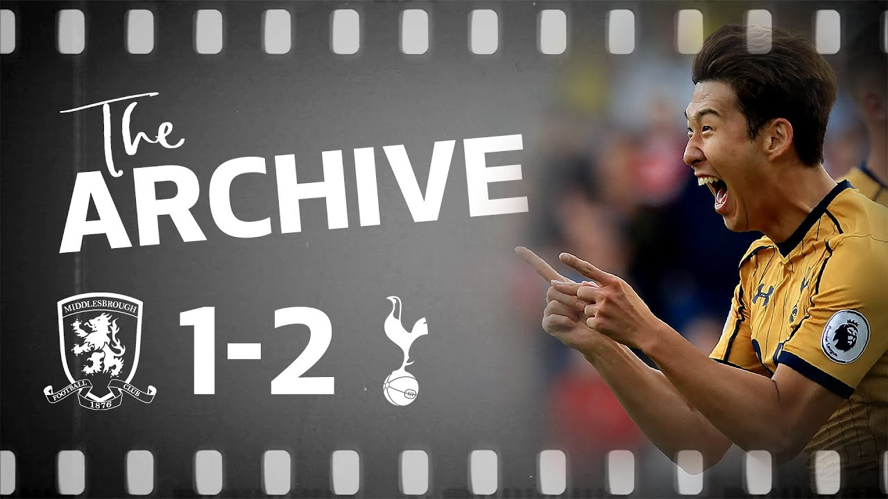 THE ARCHIVE | MIDDLESBROUGH 1-2 SPURS | Heung-min Son scores a brilliant double at the Riverside!