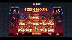 SUPER MEGA VINST! Casino på nätet slot Ozzy Osbourne från NetEnt