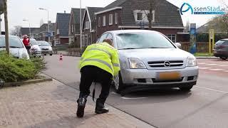 Fietser gewond door aanrijding met auto in Assen