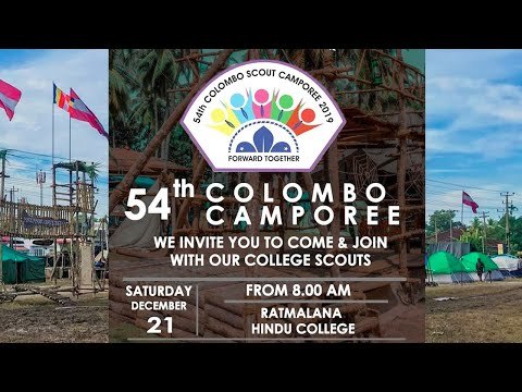 54th Colombo Scout Camporee - 2019
