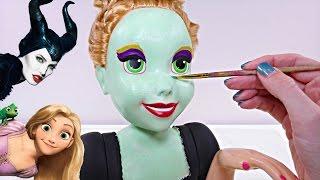 Transformando Muñecas Convierte a Rapunzel en Malefica Manualidades Divertidas en DCTC thumbnail