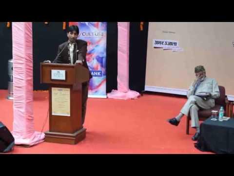 Kumar Vishwas new poetry Itni Rang Birangi Duniya at India Habitat Centre