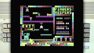 Finders Keepers on the Commodore 64